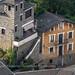 Andorra from top: Roofs of Engordany, E-E, Andorra city, Andorra