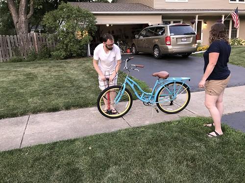 Jen's New Bike