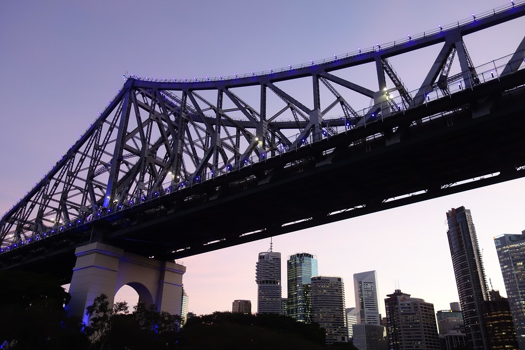 Brisbane - Story Bridge - Sunset 2