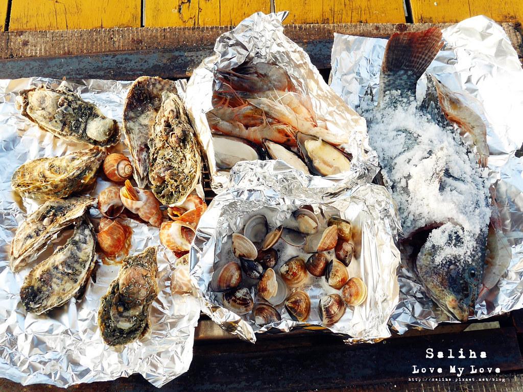 台中沙鹿區夜景餐廳推薦蠔膽你來生蠔海鮮活魚燒烤吃到飽 (3)