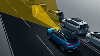 Neuer Opel Grandland X: Assistenzsysteme