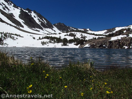 Cooney Lake along the Virginia Lakes Trail in the Hoover Wilderness of California