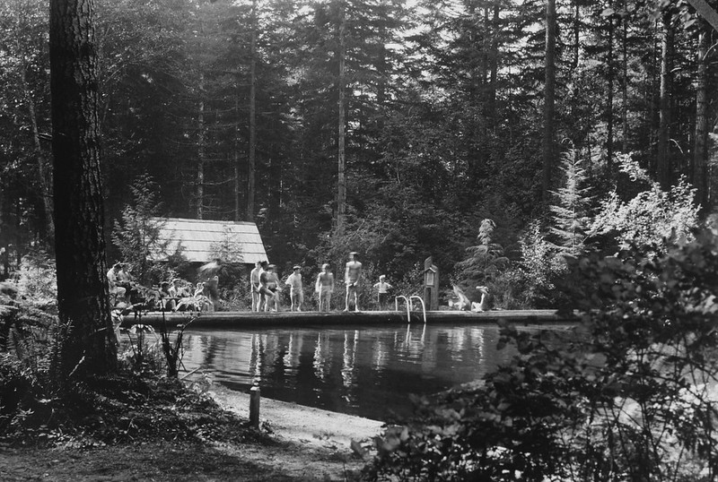 415 Swimming pool at Swim Resort, Mt Hood National Forest