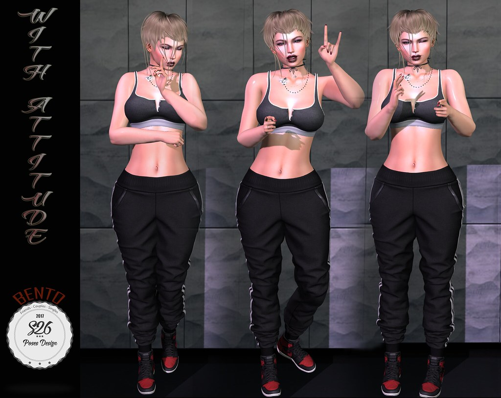 *** NEW S26 - With Attitude (bento)*** - SecondLifeHub.com