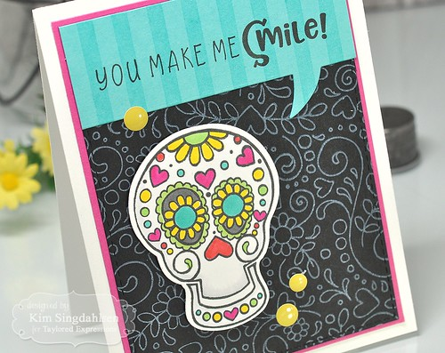 TE Sugar Skulls and Happy Flowers
