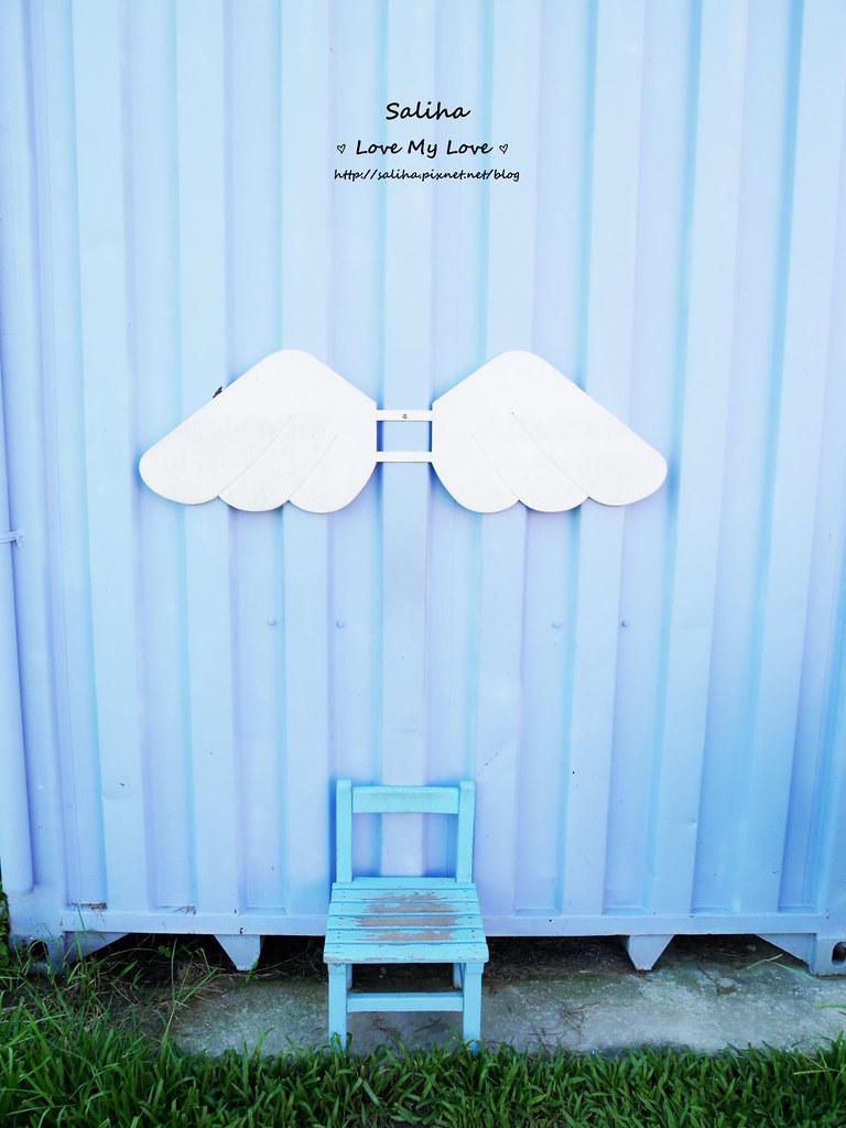 台中沙鹿區旅遊一日遊文創景點推薦好好小館彩色貨櫃屋