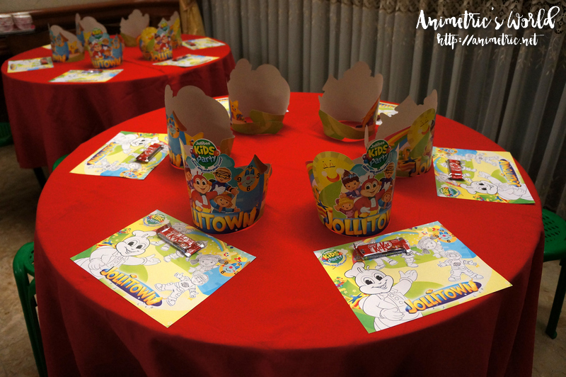 Jollibee Kiddie Party