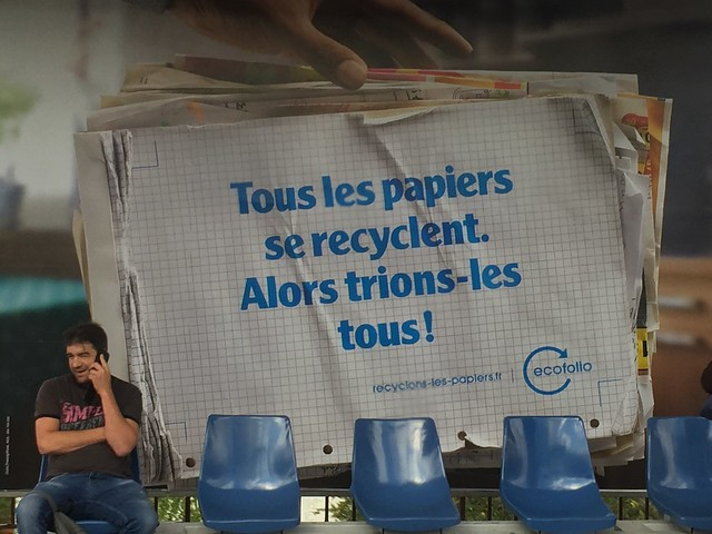 papier recyclage