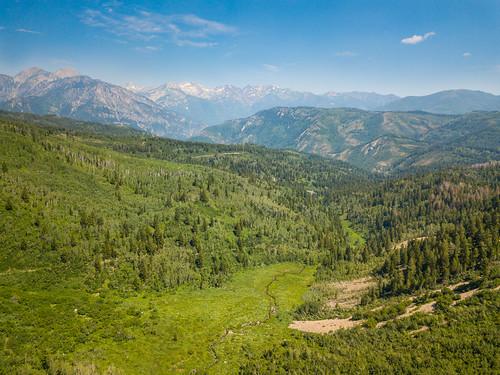 aerial drone dji utah unitedstates us uintawasatchcache uinta wasatch green trail