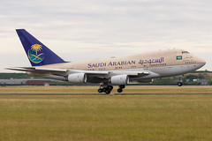 Saudi Arabian Government / B747SP / HZ-HM1B / LFPB
