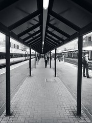 Leading from platform three - Woking Railway Station