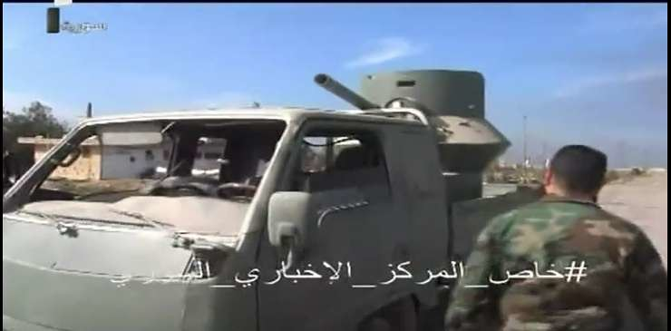 BMP1-turret-truck-captured-from-IS-east-aleppo-c2016-swb-1