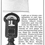 Tue, 2017-07-25 09:48 - Parking Meter Lamp, 1972 ad