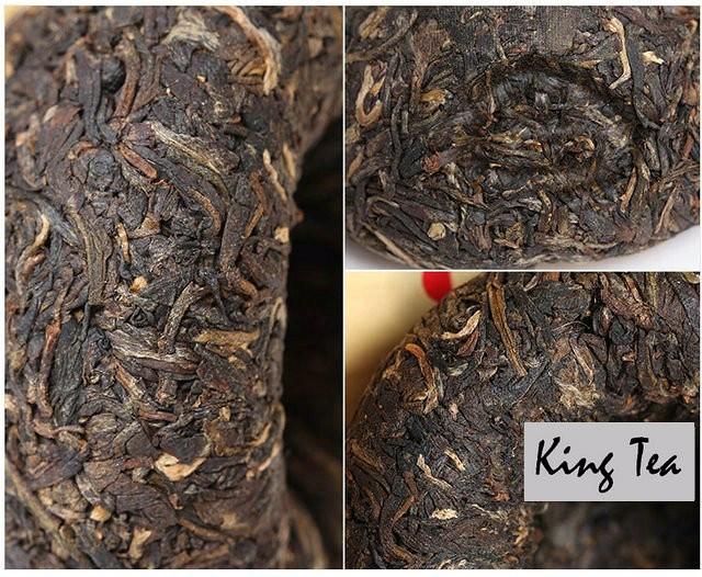 Free Shipping 2006 XiaGuan 1st Grade Tuo 100g * 5= 500g  China YunNan KunMing Chinese Puer Puerh Raw Tea Sheng Cha Slim Beauty Weight Loss