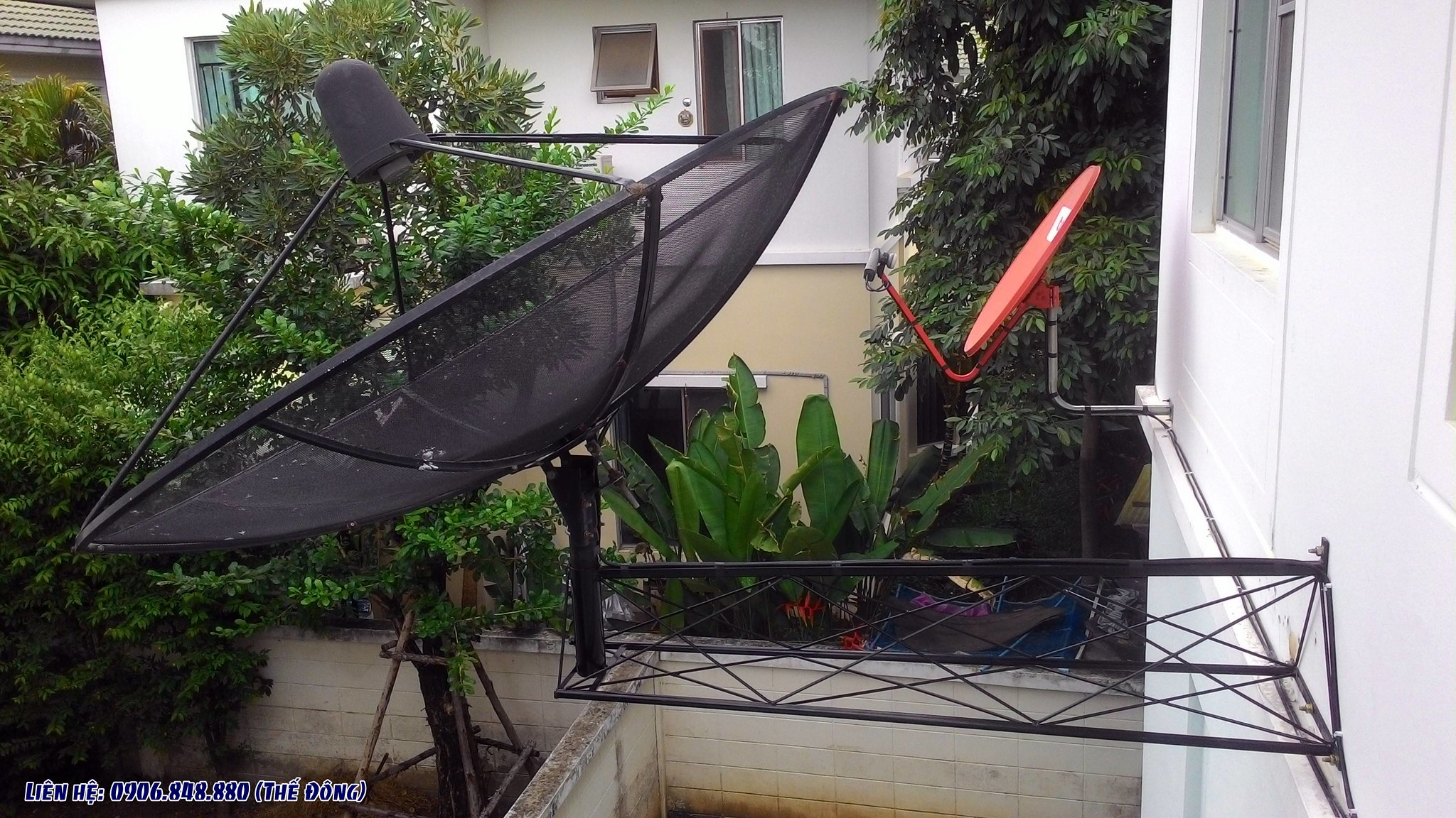 sửa chữa truyền hình vệ tinh