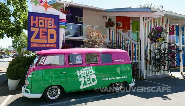 Hotel Zed shuttle bus!