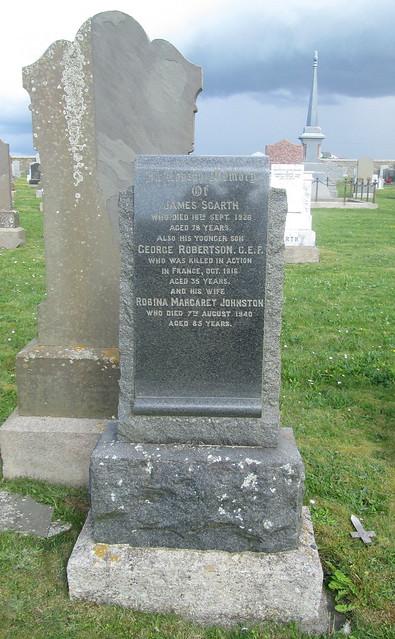 Memorial Stone at Birsay