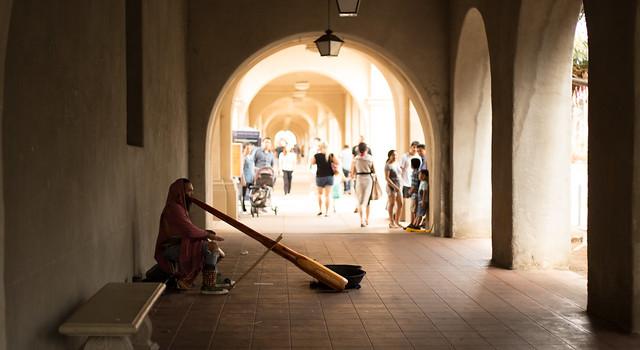 Didgeridoo Busking