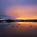 A peach of a dawn on Rannoch moor by kenny barker