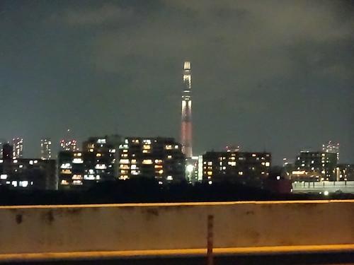 辰巳第1PAの夜景