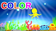 learn-colors-with-animal-octopus-for-chidlren-tohe-kid