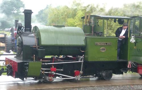 'TRANGKIL No.4 0-4-2ST at the 'Statfold Barn Railway' on 'Dennis Basford's railsroadsrunways.blogspot.co.uk