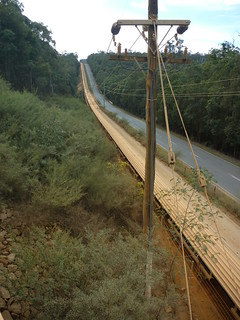 Alcoa conveyor belt near South Dandalup Dam