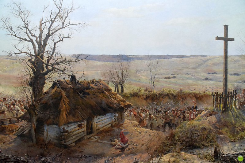 Panorama of the Battle of Racławice (2/11)