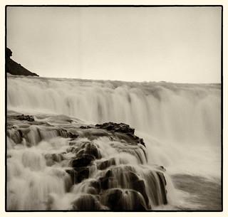 Holga tri-x Diafine Iceland falls (1 of 1)