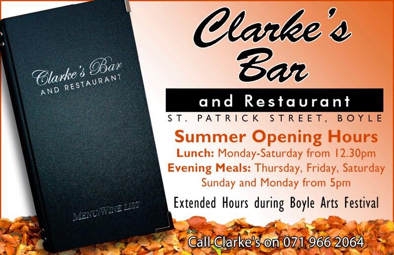 Clarke's Opening Hours