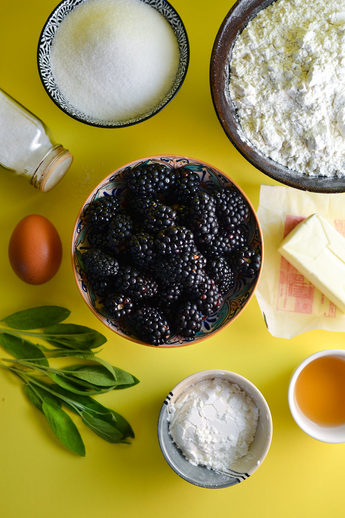 Blackberry Sage Pie | Things I Made Today