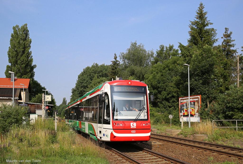 Citybahn Chemnitz 2 Abfahrt Der Citybahn Linie C13 Aus W Flickr