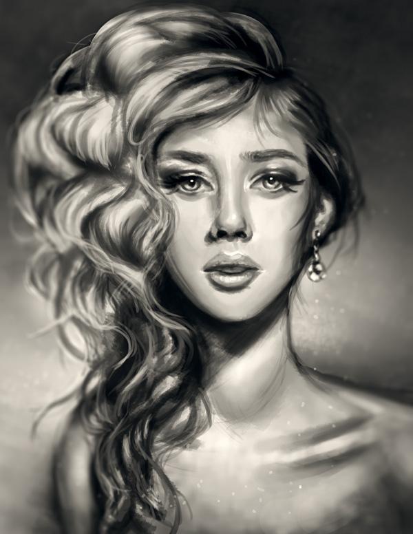 61Digital Portrait Painting in Adobe Photoshop1