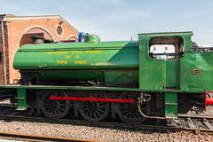 Bo'ness & Kinneil Railway - NCB (060ST) Engine No 9 (2)