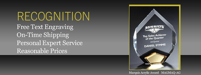 Lmaawards free text engraving, proofs and personalization