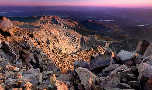 pikespeak colorado coloradolandscape coloradosprings fuji fujifilm xt2 leefilters landscape sunrise velvia
