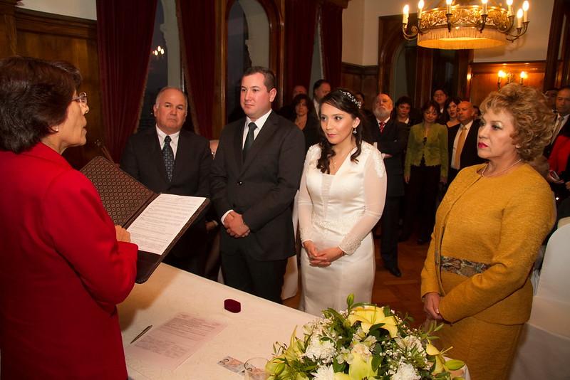 En la ceremonia Castillo Brunet