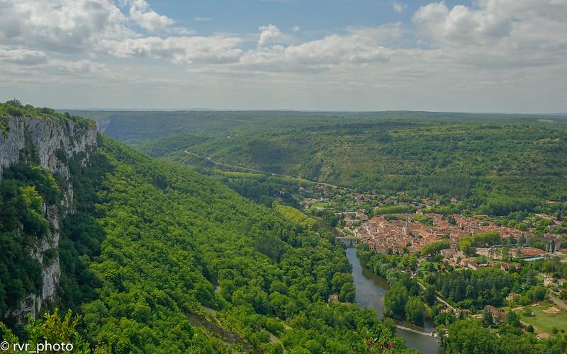 Panorámica de Saint-Antonin-Noble-Val
