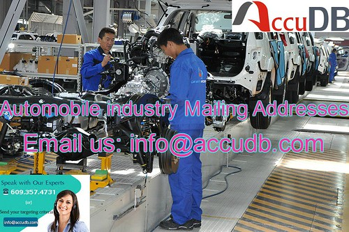 Automobile industry Mailing Addresses