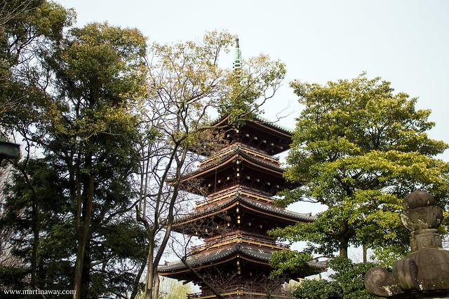Five-storied Pagoda (Former Keni-ji), Ueno Park