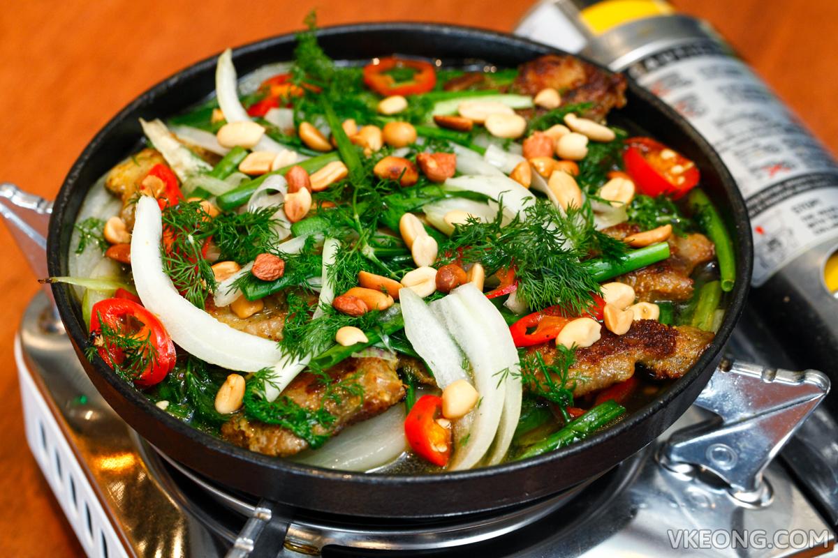 Ăn Viet  Hanoi style Fish with Turmeric & Dill