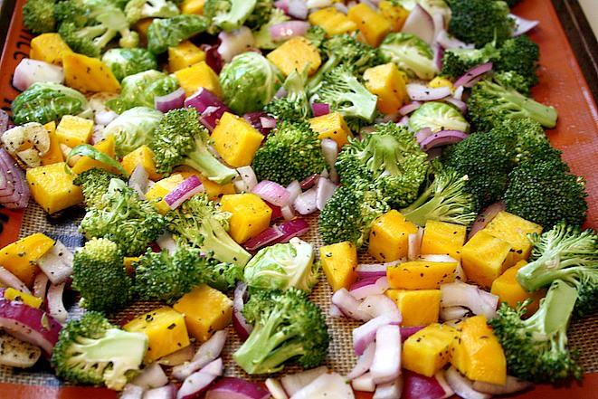 Healthy Turkey Roasted Veggie Quinoa Bowl
