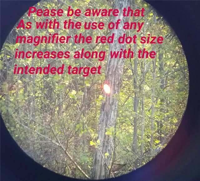CMR30 3X MAGNIFIER RED DOT11