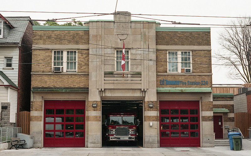 Art Deco Fire Station 324_
