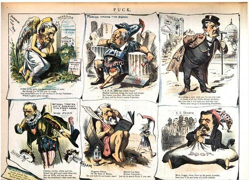 puck's valentines (1884)
