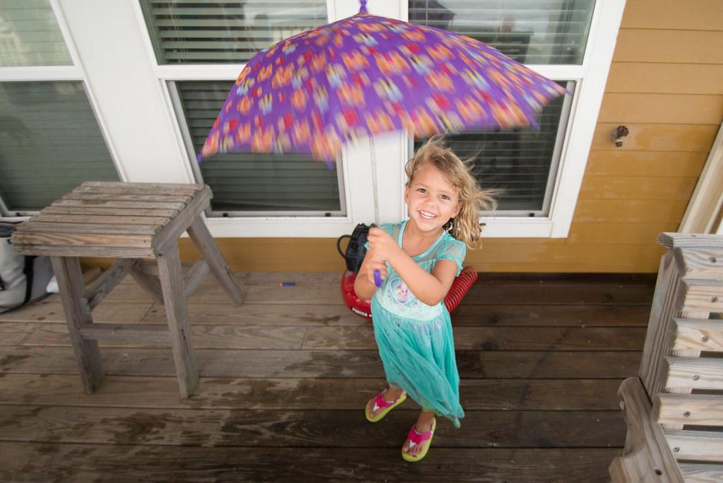 Umbrella Peek-a-boo