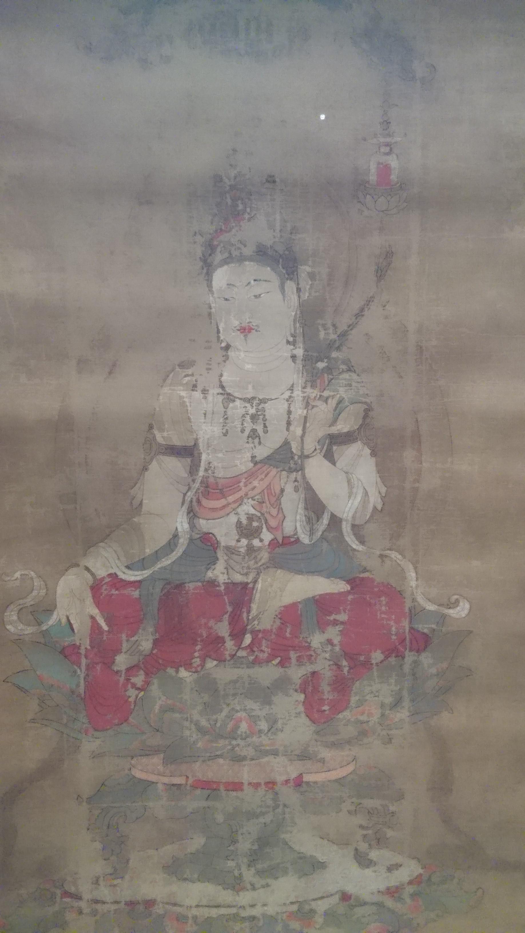 重要文化財 《弥勒菩薩像》(鎌倉時代、奈良・宝山寺)