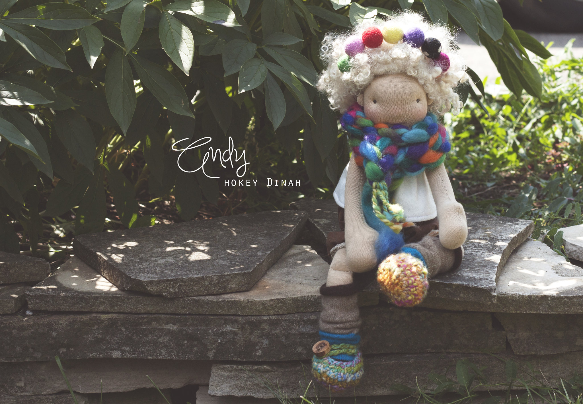 "Andy: a 14"" doll by Hokey Dinah"