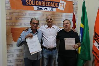 Solidariedade-SP recebe lideranças de Neves Paulista