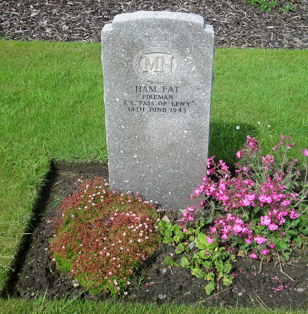 Merchant Navy Seaman, Lyness Royal Naval Cemetery
